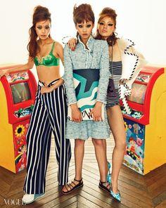 2015.02, Vogue, Hwang Se On, Jung Ho Yeon, Han Kyung Hyun