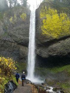 Basalt waterfall,Portland,OR