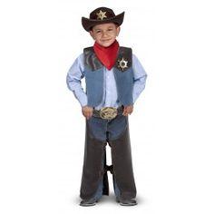 Déguisement Cow-boy et ses accessoires 3-6 ans