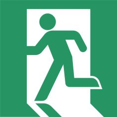 Safety Vector First - Emergency Exit Sign Vector Emergency Exit Signs, Evacuation Plan, Find Your Friends, Thing 1, Social Bookmarking, Man Logo, Best Logo Design, Graphic Design, Stick Figures