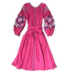 Varenyky Fashion - beautifully hand embroidered fuchsia dress by top Ukrainian designer! . . . . #liberalstyle #daisies #flowers #indooroopillyshopping #lvl3 #bohemian  #clothesshop #ootdinspo #love #instagood #cute #photooftheday #picoftheday #beach #beautiful #instadaily #summer #fashion #sun #style #smile #beauty #ootd #me #look #instafashion #fashionable #fashionstyle #styleyourlife #onlineshopping #shopping #shoponline #boho #outfit  #instastyle #bohostyle