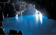 Grotta azzurra, Taormina Sicilia