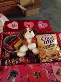Valentine Care package for college students