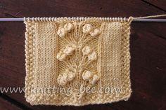 Free Nosegay Stitch Knitting Pattern