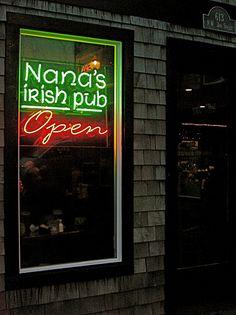 Nana's Irish Pub & Kitchen in Newport, Oregon. Great place to eat and socialize! Oregon Beaches, Oregon Coast, Pacific Coast, Pacific Northwest, Oregon Vacation, Oregon Travel, Silverton Oregon, Ireland Pubs, Newport Oregon