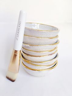 LEAHLANI SKINCARE MASK BOWL AND MASK BRUSH
