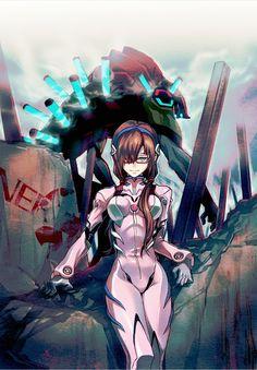 Neon Genesis Evangelion - Mari Makinami Illustrious