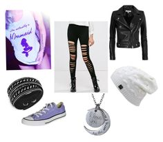 """""""Little mermaid"""" by lunaterra ❤ liked on Polyvore featuring Swarovski, IRO and Converse"""