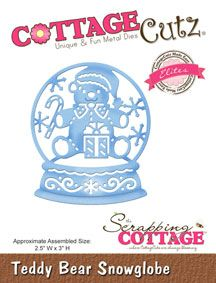 The Scrapping Cottage - Where CottageCutz are Always Blooming - CottageCutz Christmas 2015