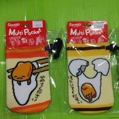 日本原版授權 蛋黃哥 襪子造型束口袋  現貨自取可到北市忠孝東路五段427號1樓 永春捷運站1號出口左轉