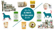 It's time to show some love to the furriest members of your family! Enter to win this incredible bundle of natural, eco-friendly, and organic pet products.