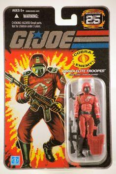 "G.I. JOE Hasbro 25th Anniversary 3 3/4"" Wave 5 Action Figure Crimson Guard #GIJoe http://www.amazon.com/dp/B0011TR6ZG/ref=cm_sw_r_pi_dp_Xq7Csb1JZSCG3EM5"