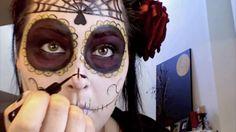 Dia De La Muerta Halloween Tutorial