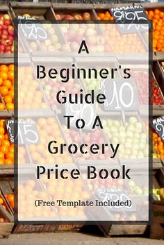 Knowing your grocery prices is half the battle won when it comes to saving money in your grocery budget but plan now with the grocery price book to compare.