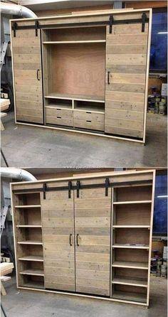 Closet organization diy bedroom drawers 57 New Ideas Pallet Furniture, Furniture Projects, Furniture Design, Furniture Storage, Painting Furniture, Bedroom Furniture, Furniture Repair, Furniture Online, White Furniture