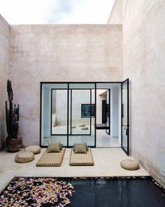 Glitz Bliss: Living Bliss: Moroccan Retreat