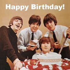 Fabric Transfers Beatles 25 - 8 X 10 Tee Shirt Iron On Transfer Happy Birthday & Garden