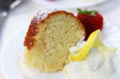 Mom's Lemon Butter Bundt Cake recipe has a crispy, buttery bottom similar to old-fashioned buttermilk donuts. Kissed with lemon, this is a must! Butter Bundt Cake Recipe, Lemon Bundt Cake, Bundt Cakes, Pound Cake, Lemon Loaf, Food Cakes, Lemon Recipes, Cake Recipes, Dessert Recipes