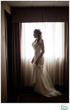 Window pose, classic wedding, glam, wedding pose idea, must do wedding photo  Photo: b jones photography  Www.bjonesphotos.com Seattle wedding photographer