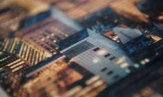 Detail van een skyline foto geprint op 18mm berkenplex. #fotoophout #berkenhout