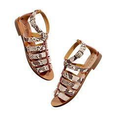 MADEWELL  Snakecharmer gladiator sandal