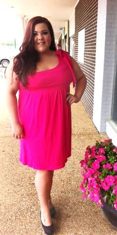 Pink One Shoulder Bow Tie Dress 1x, 2x, 3x. $46.00. Blondellamy'Dean is a boutique just for Curvy Girls. Sizes 10- 28. Specialty sizes up to a size 36. Use coupon code: pin10 for 10% off your first purchase on www.blondellamydean.com or like us on www.facebook.com/blondellamydean   #pink #one #shoulder #bow #tie #dress #1x #2x #3x #4x #5x #6x #american #european #curvy #clothes #plus #blondellamydean #fashion #style #stylish #cute #beautiful #pretty #girly #girl #girls #skirt #styles #outfit