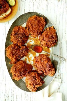 Nashville Style Hot Fried Chicken Recipe | HeyFood