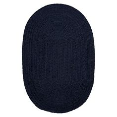 Forever Soft Solid Oval Chenille Rug