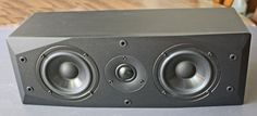 Emotiva BasX LCR Loudspeakers - Front View