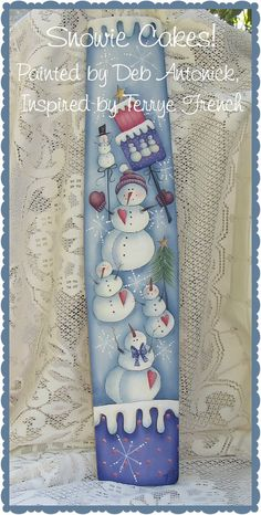 E-Pattern - Snowie Cakes
