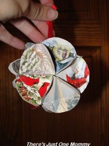 Great Way to Reuse Christmas Cards