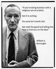 7 Best William S Burroughs Images Quote Author Lyrics