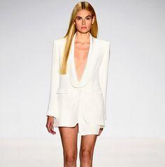 New York Fashion Week. SS15. August Getty Atelier. #nyfw #mbfw