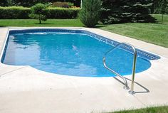 So … pool smell. Yes, pool smell. Most people would say that swimming pools smell like chlorine. In a recent survey, three-quarters of respondents pegg . Swimming Pool Heaters, Swiming Pool, Swimming Pools Backyard, Swimming Pool Designs, Backyard Bbq, Pools For Small Yards, Small Inground Pool, Simple Pool, Pool Ladder