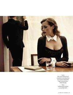 Yasmin le Bon by Bryan Adams for L'Officiel October 2011.