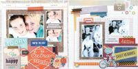 Page of the Month - January 2014 featuring Capture by Basic Grey for Scrapbooks