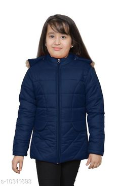 Jackets & Coats StreetLine Navy Stylish Kids Girls Jacket Fabric: Nylon Sleeve Length: Long Sleeves Pattern: Solid Multipack: 1 Sizes:  4-5 Years (Length Size: 20 in Waist Size: 13 in Hip Size: 15 in)  5-6 Years (Length Size: 21 in Waist Size: 14 in Hip Size: 16 in)  10-11 Years (Length Size: 25 in Waist Size: 18 in Hip Size: 20 in)  3-4 Years (Length Size: 19 in Waist Size: 12 in Hip Size: 14 in)  8-9 Years (Length Size: 23 in Waist Size: 16 in Hip Size: 18 in)  7-8 Years (Length Size: 22 in Waist Size: 15 in Hip Size: 17 in)  9-10 Years (Length Size: 24 in Waist Size: 17 in Hip Size: 19 in)  Country of Origin: India Sizes Available: 3-4 Years, 4-5 Years, 5-6 Years, 6-7 Years, 7-8 Years, 8-9 Years, 9-10 Years, 10-11 Years *Proof of Safe Delivery! Click to know on Safety Standards of Delivery Partners- https://ltl.sh/y_nZrAV3  Catalog Rating: ★4.3 (406)  Catalog Name: Modern Stylus Girls Jackets & Coats CatalogID_1872424 C62-SC1153 Code: 547-10311693-