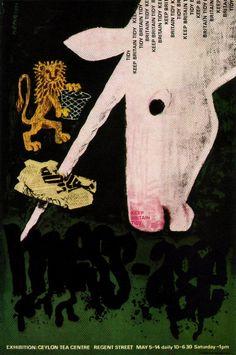 FHK Henrion Illustration 5 | Flickr - Photo Sharing! Majestic Unicorn, Lion And Unicorn, Real Unicorn, The Last Unicorn, Magical Unicorn, Regent Street, Unicorn Books, Exhibition Poster, Pegasus