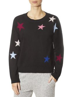 This is the 'Presley' Black Jumper With Stars by top brand, Rails! Featuring long sleeves, scattered stars, a round neck. This is the essential piece your closet needs to bring you into Spring! SHOP NOW! Cashmere Color, Cashmere Jumper, Black Jumper, Grey Sweater, Cold Shoulder Sweater, Sweater Weather, Sweatshirts, Long Sleeve, Sweaters
