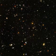 Hubble Ultra Deep Field #HUDF This view of nearly 10,000 galaxies is the deepest visible-light image of the cosmos, spanning a distance of billions of light years