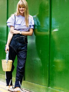 10 Amazing Outfit Ideas YOU Created on Instagram via @WhoWhatWear Best Instagram Photos, 2016 Fashion Trends, Fall Wardrobe, Who What Wear, Overalls, Cool Outfits, Told You So, Stylish, Amazing