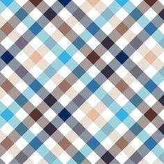 Tapeta Pixerstick Modrá béžová úhlopříčka check bezešvé textilie textura ✓ Snadná instalace ✓ 365 denní záruka vrácení peněz ✓ Procházejte ostatní vzory z této kolekce!