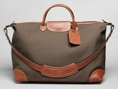 Man Bag Monday: Longchamp Boxford Travel Bag