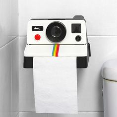 Polaroll The Polaroid Toilet Paper Holder | Cool Feed.me - Cool Stuff To Buy And Drool Over