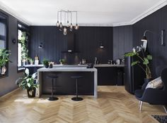Live in a high class apartment in Grünerløkka? - Apartments for Rent in Oslo, Oslo, Norway Big Kitchen, Kitchen Island, Home Trends, High Class, Apartment Design, My Dream Home, Living Room, Interior, Modern