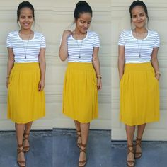 Stripes and Mustard!