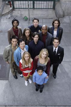 Heroes season one, before I got emotionally attached to each character and cried as they all died... Geek moment