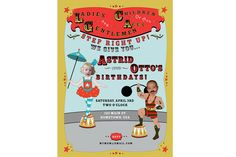 Invitation: Circus Carnival Brother and by LittleAndTheGirl