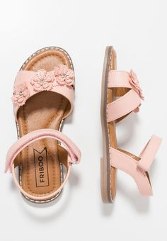 Friboo Sandals - rose for Free delivery for orders over Baby Girl Sandals, Toddler Sandals, Kids Sandals, Baby Girl Shoes, Kid Shoes, Girls Shoes, Shoe Boots, Trendy Shoes, Casual Shoes