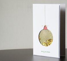 Vive, Crea, Scrapea: Tarjetas de Navidad. Shakers!